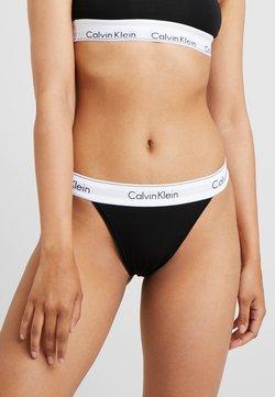 Calvin Klein Underwear - MODERN HIGH LEG TANGA - Slip - black