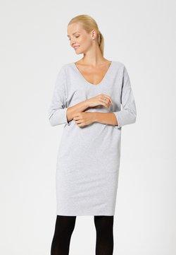 usha - Vestido ligero - light grey melange