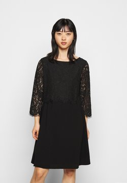 VILA PETITE - VIFRANA 3/4  DRESS - Cocktail dress / Party dress - black