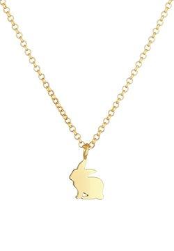 Elli - Rabbit - Halsband - gold