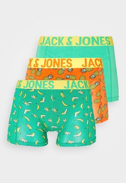 Jack & Jones - 3 PACK JACSUMMER FRUIT TRUNKS  - Shorty - blarney/dragon fire