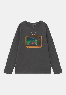 Name it - NMMODAR BOX - Longsleeve - dark grey melange