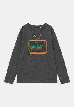 Name it - NMMODAR BOX - Long sleeved top - dark grey melange
