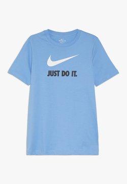 Nike Sportswear - T-Shirt print - university blue/white