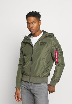 Alpha Industries - Giubbotto Bomber - dark olive