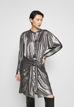 Rebecca Minkoff - WILLOW DRESS - Vestito elegante - gunmetal