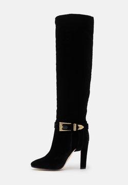 Alberta Ferretti - Over-the-knee boots - black