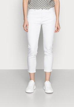Esprit - SLIM CAP - Jeans slim fit - white
