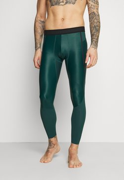 Under Armour - ISOCHILL LEGGINGS - Tights - dark cyan