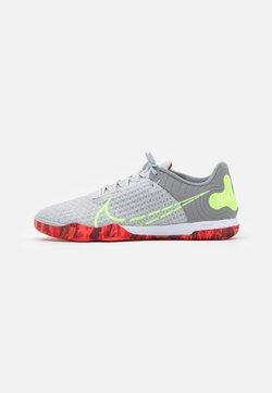 Nike Performance - REACTGATO  - Chaussures de foot en salle - grey fog/ghost green/wolf grey