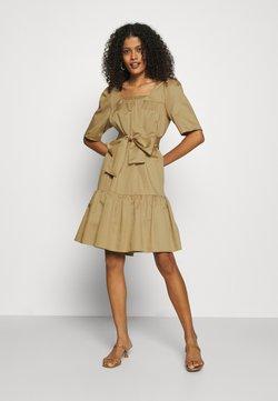 Selected Femme - SLFWANDA SHORT DRESS  - Sukienka letnia - kelp