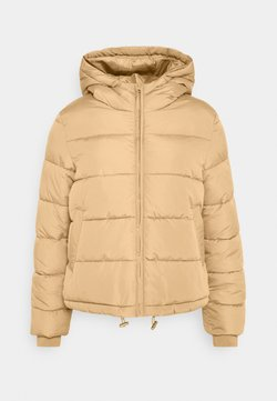 Pieces Petite - PCBEE PADDED JACKET - Parka - natural