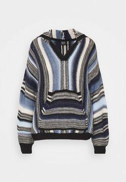 BDG Urban Outfitters - BAJA HOODIE - Strickpullover - blue