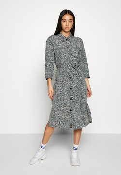 Monki - VALENTINA DRESS - Skjortekjole - black