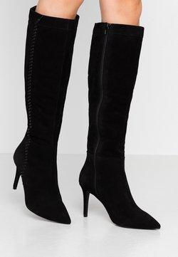 Zign - Laarzen met hoge hak - black