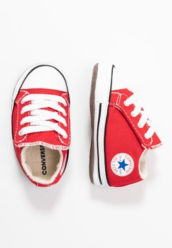 Converse - CHUCK TAYLOR ALL STAR CRIBSTER MID - Krabbelschuh - university red/natural ivory/white