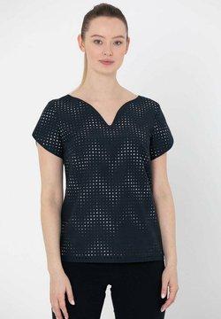Deni Cler Milano - T-shirt z nadrukiem - granatowy