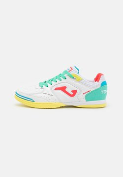 Joma - TOP FLEX - Indoor football boots - white/multicolor