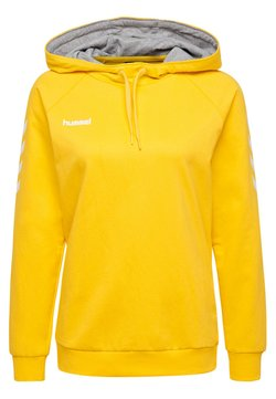 Hummel - HMLGO  - Hoodie - yellow
