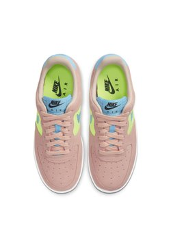 Nike Sportswear - AIR FORCE 1 - Sneakers laag - washed coral/ghost green/black/oracle aqua