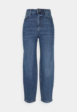 Marks & Spencer London - BALLOON JEAN - Jeans baggy - blue denim