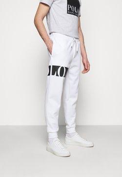 Polo Ralph Lauren - DOUBLE TECH - Jogginghose - white