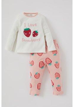 DeFacto - SET - Pantalón de pijama - ecru