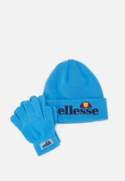 Ellesse - VELLY BEANIE BUBB GLOVE PACK SET - Fingerhandschuh - blue