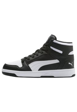 Puma - PUMA REBOUND LAY UP TRAINERS UNISEX - Höga sneakers - puma black-puma white