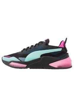 Puma - LQDCELL OPTIC XI  - Chaussures de running neutres - black/aruba blue/luminous pink