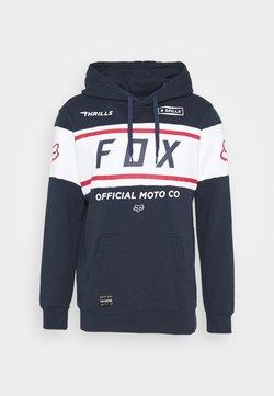 Fox Racing - OFFICIAL - Kapuzenpullover - dark blue