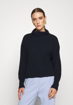 FTC Cashmere - HIGHNECK - Sweter - midnight
