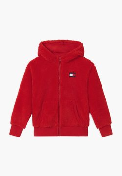 Tommy Hilfiger - HOODED FULL-ZIP UNISEX - Veste polaire - red