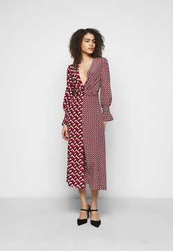 Diane von Furstenberg - MICHELLE DRESS - Freizeitkleid - red