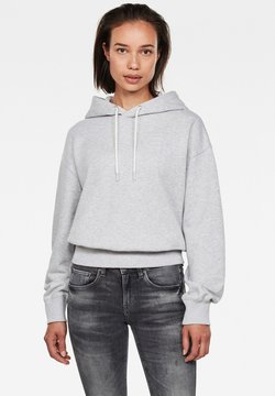 G-Star - LOOSE HOODED - Sweat à capuche - cool grey htr