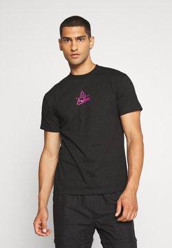 HUF - FORBIDDEN DOMAIN TEE - T-shirt con stampa - black