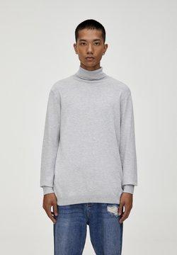 PULL&BEAR - Strickpullover - light grey