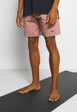 Nike Performance - DRY SHORT - Pantalón corto de deporte - claystone red/heather/black
