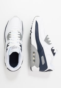 Nike Sportswear - AIR MAX 90 UNISEX - Sneakers - white/particle grey/obsidian