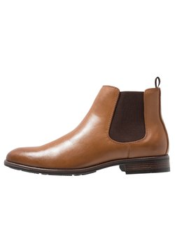 Pier One - Bottines - cognac