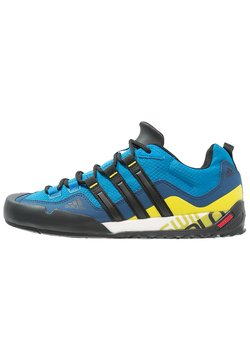 adidas Performance - TERREX SWIFT SOLO - Kletterschuh - unity blue/core black/unity lime