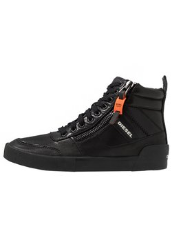 Diesel - S-DVELOWS MID - Sneaker high - black