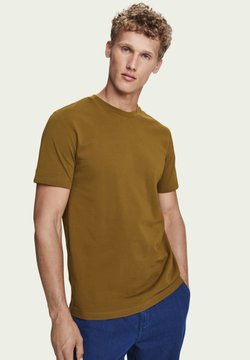 Scotch & Soda - T-Shirt basic - military
