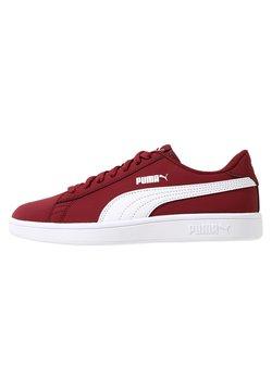 Puma - SMASH  - Sneaker low - pomegranate/puma white