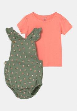 Carter's - SET - T-shirt imprimé - khaki/light pink