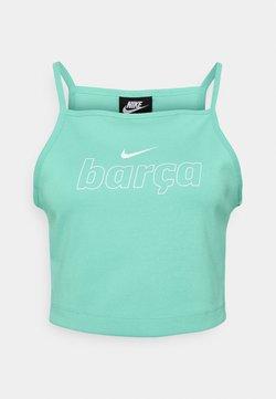Nike Performance - FC BARCELONA TANK  - Club wear - tropical twist/white