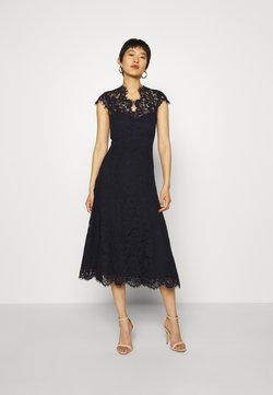 IVY & OAK - DRESS MIDI - Cocktailkleid/festliches Kleid - navy blue