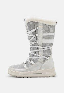 TOM TAILOR - Bottes de neige - white/silver