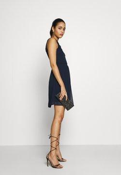 Vero Moda - VMYASMIN SHORT DRESS - Cocktailkleid/festliches Kleid - navy blazer