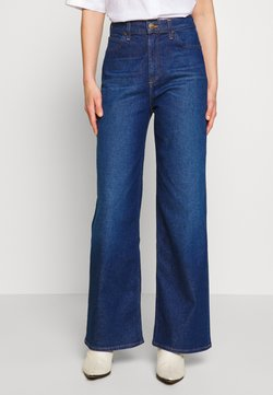 Lee - STELLA A LINE - Flared Jeans - dark garner